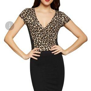 Tops - Leopard bodysuit